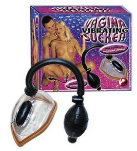 Vibrating Vagina Sucker Clear